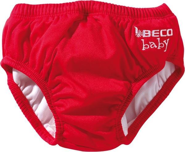 Beco Aqua-Windel Slipform Uni rot