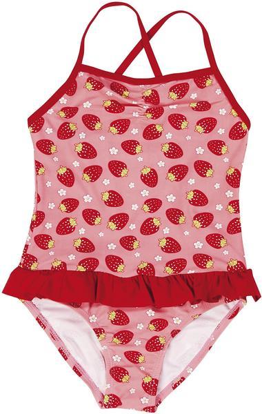 Playshoes UV-Schutz Badeanzug Erdbeeren