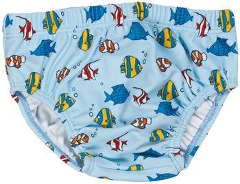 Playshoes UV-Schutz Windelhose Fische hellblau
