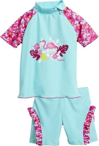 Playshoes UV-Schutz Badeset Flamingo