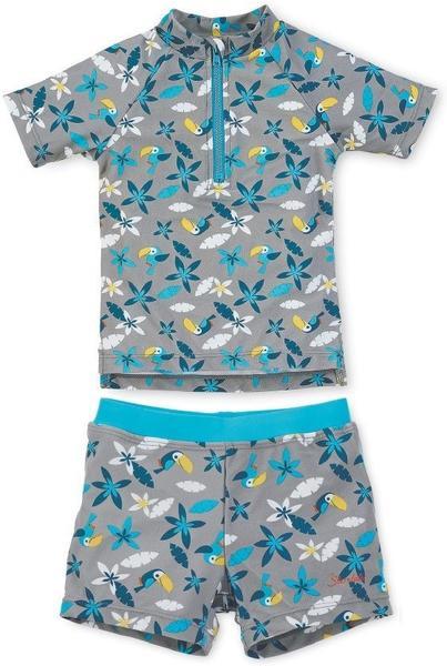 Sterntaler UV-Schwimmanzug rauchgrau
