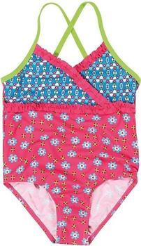 Playshoes UV-Schutz Badeanzug Blumen pink