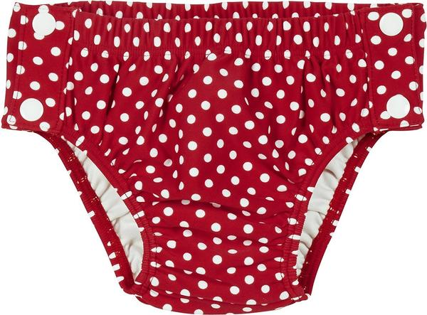 Playshoes UV-Schutz Windelbadehose Punkte rot