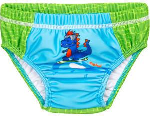 Playshoes UV-Schutz Windelbadehose Dino blaugrün (461300-791)