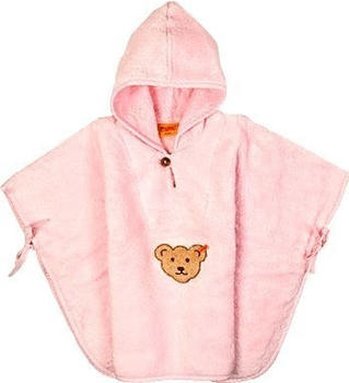 Steiff Bade-Poncho rosa