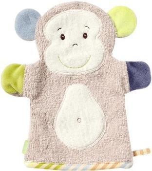 Fehn Waschhandschuh Monkey Donkey Affe