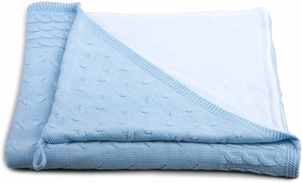 Baby's Only Kapuzen Badetuch blau weiß