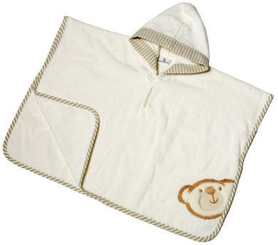 Be Be´s Collection Bade Poncho - Big Willi beige