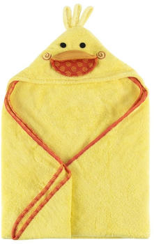 Zoocchini Baby Snow Terry Hooded Bath Towel - Puddles the Duck