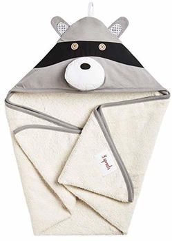 3 Sprouts Raccoon Hooded Towel