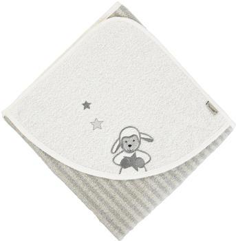Sterntaler Kapuzenbadetuch Stanley grau (80 x 80)