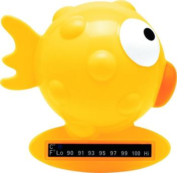 Chicco Badethermometer Kugelfisch gelb
