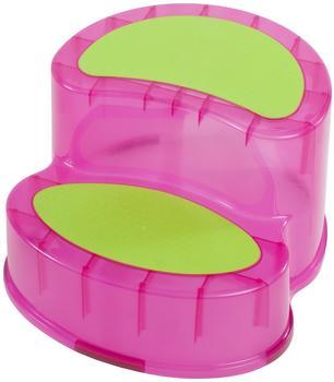 Bieco Tritthocker pink
