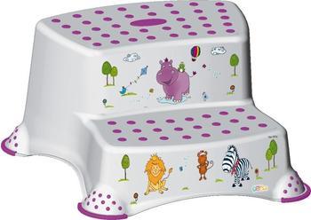 okt-tritthocker-zweistufig-hippo-weiss