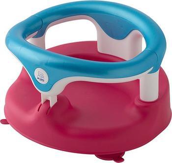 Rotho-Babydesign Baby Badesitz raspberry aquamarin weiss