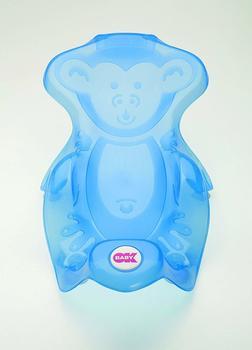 OK Baby Badliege Monkey transparent blau