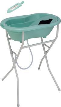 Rotho Badelösung Top mit Badewannenständer swedish green