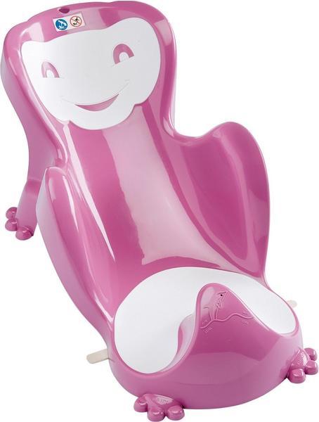 Funny Babycoon Badesitz Pink Weiß