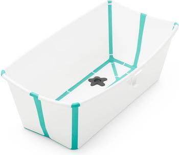 Stokke Flexi Bath Badewanne aqua weiß