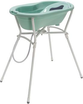 Rotho-Babydesign Badelösung mit Standard Badewannenständer swedish green