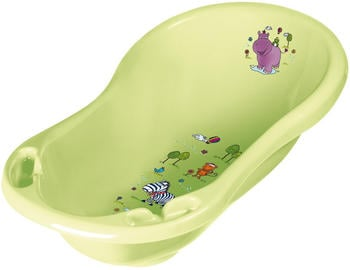 keeeper-maria-babywanne-mit-stoepsel-hippo-lime