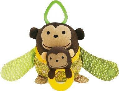 Skip Hop Treetop Friends Stroller Toy Hug and Hide Affe