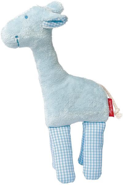 Sigikid Rassel Giraffe blau