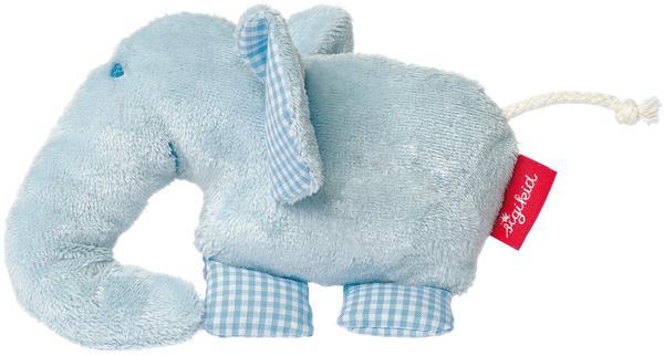 Sigikid Organic Quietsch-Elefant blau