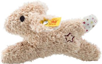 Steiff Mini Knister-Hase mit Rassel 11 cm