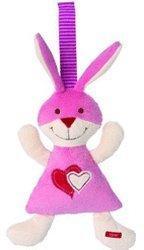 Sigikid Esprit Bunny Heart Rassel