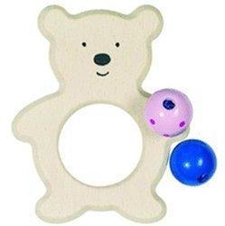 Heimess Greifling Bär mit Perlen (763010)
