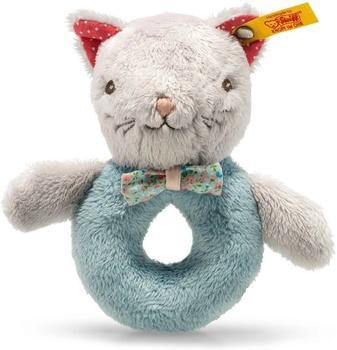 Steiff Blossom Babies - Katze Greifring mit Rassel
