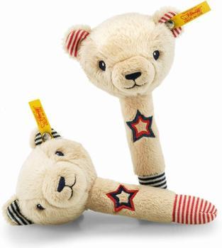 Steiff Teddybär Band Niklie Rasselset 15 cm