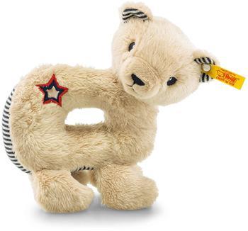 Steiff Teddybär Niklie Greifring mit Qietsche 14 cm