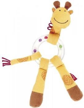 Sigikid Baby Rassel mit Beißring Giraffe