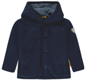 Steiff Boys Fleece Jacket navy blue