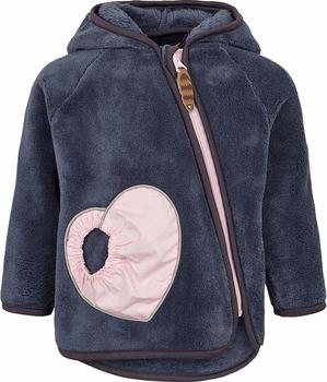 Racoon Kids Nanna Fleece Jacket grisaille (R0328-0708-GRI)