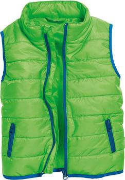 Schnizler Quilted Vest green (430612-29)