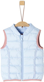 S.Oliver Steppweste mit Zierborte (59.908.53.2112) light blue