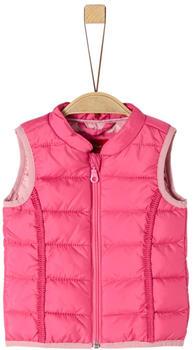 S.Oliver Steppweste mit Zierborte (59.908.53.2112) pink