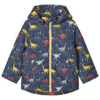 Name It NMMMAX JACKET DINOSAUR (13183163) ombre blue