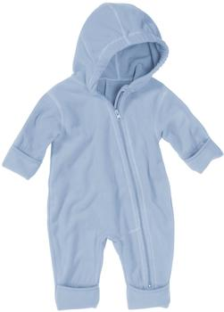 Playshoes Fleece-Overall hellblau
