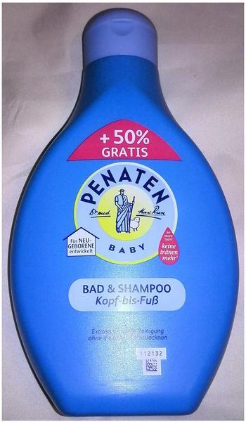Penaten Bad und Shampoo Kopf-bis-Fuss (600 ml)