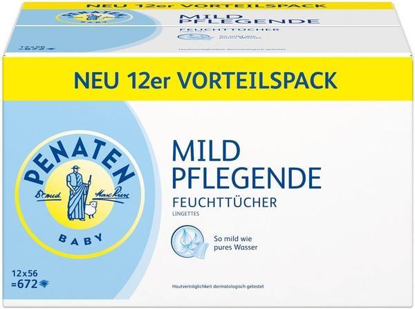 Penaten Mild Pflegende Feuchttücher (56 Stk.)