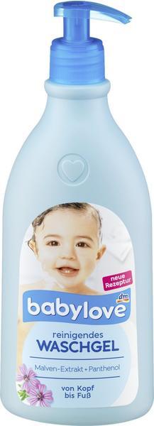 Babylove reinigendes Waschgel (500ml)