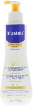 Mustela Baby Nourishing Cleansing Gel with Cold Cream Dry Skin (300ml)
