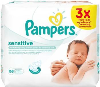 Pampers Sensitive Feuchttücher (3 x 56 Stk.)