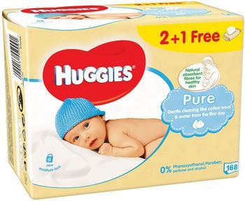 Huggies Pure Feuchttücher (3 x 56 Stück)