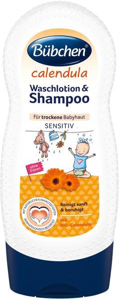 Bübchen Calendula Waschlotion & Shampoo (230ml)