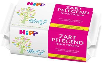 Hipp Babysanft Feuchttücher Zart Pflegend (4 x 56 Stk.)